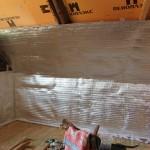 Утепление стен светоотражающим материалом