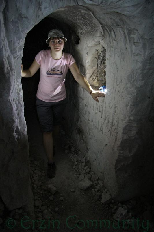 в пещере Шатрище