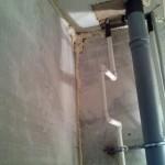 Запененые щели в туалете